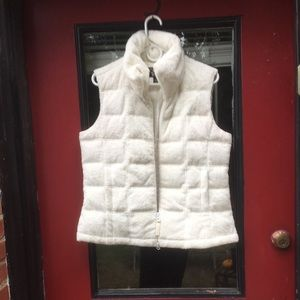 Vest white, new condition